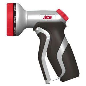 Ace  8 pattern Adjustable  Hose Nozzle