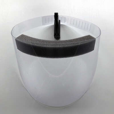 Hatteras  Adjustable  Face Shield  Clear Lens