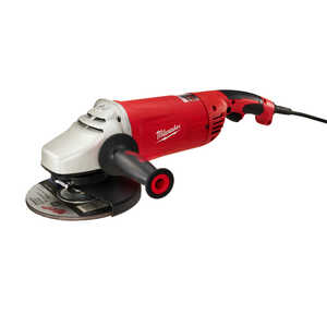 Milwaukee  Corded  Trigger Grip  Angle Grinder  7 to 9 in. 6000 rpm 15 amps