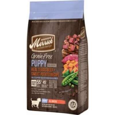 Merrick  Texas Beef and Sweet Potato  Dry  Dog  Food  Grain Free 10 lb.
