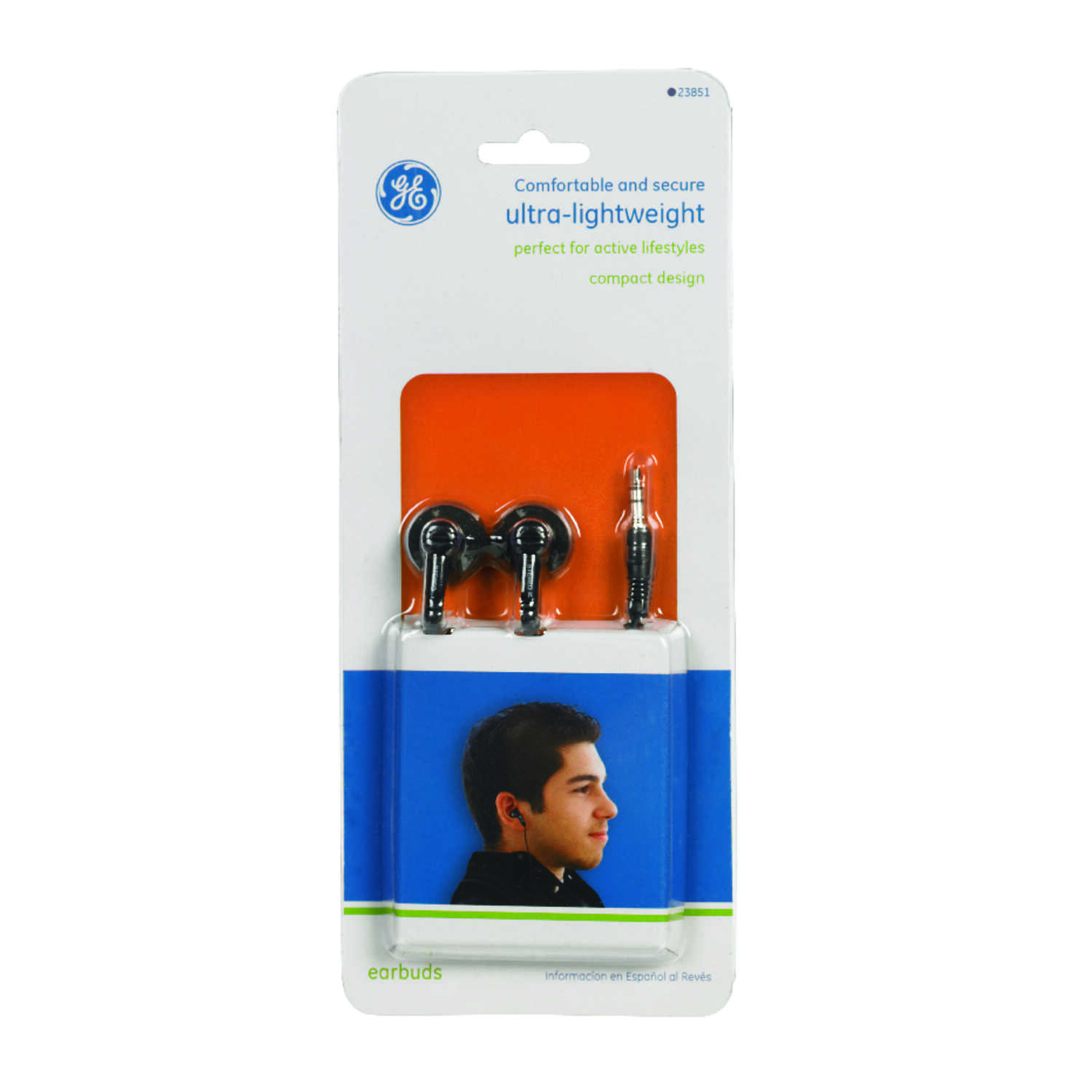 GE  Headphones  1 pk