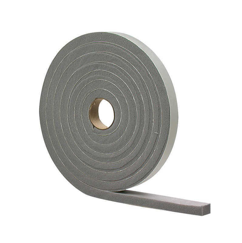 M-D Building Products  Gray  Foam  17 ft. L x 3/16 in.  For Door and Window Weather Stripping