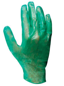 Soft Scrub  Vinyl  Disposable Gloves  One Size Fits All  10 pk Green