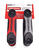 Craftsman  Metric and SAE  Fold-Up  Hex Key Set  17 in. 2 pk