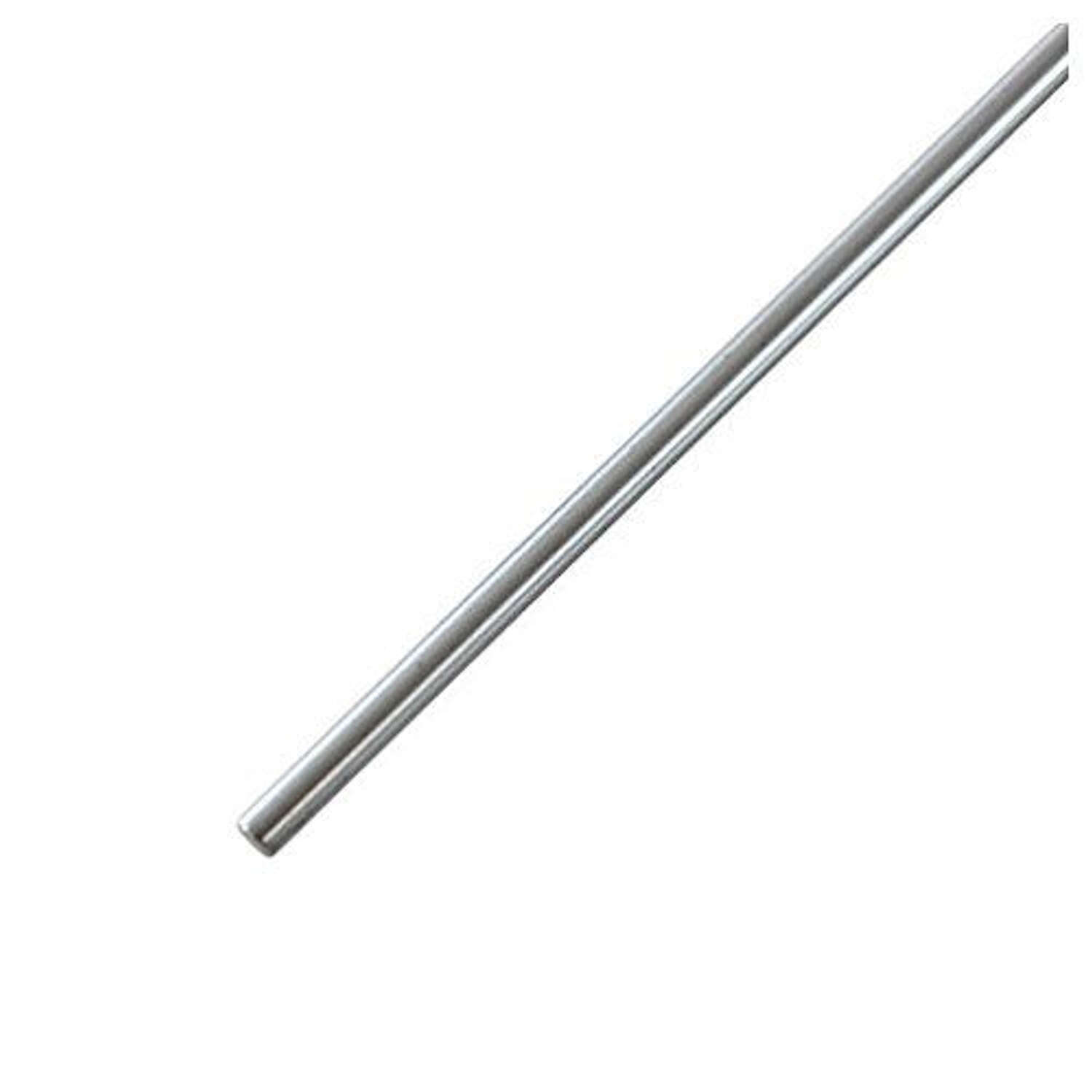 K&S  12 in. L x 1/4 in. Dia. Unthreaded Rod  Stainless Steel