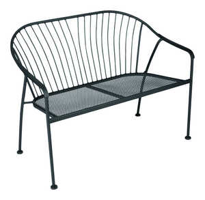 Living Accents  Winston  Bench  41.14 in. D x 23.03 in. L x 31.89 in. H Steel