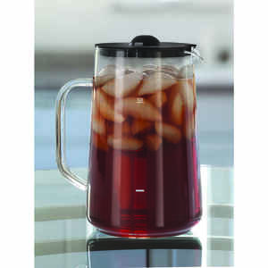 Capresso  Clear  Glass  Pitcher