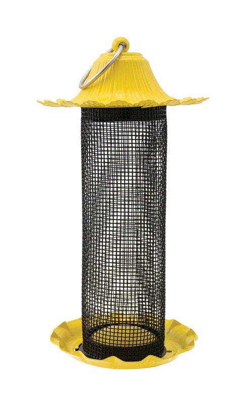 Stokes Select  Little-Bit  Finch  2 lb. Wire  Tube  Bird Feeder  4 ports