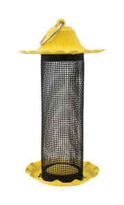 Stokes Select  Finch  0.5 lb. Metal/Plastic  Screen  Bird Feeder  0 ports