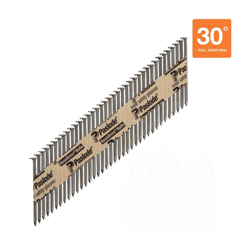 Paslode RounDrive 30 16 Ga. Smooth Shank Straight Strip Framing ...
