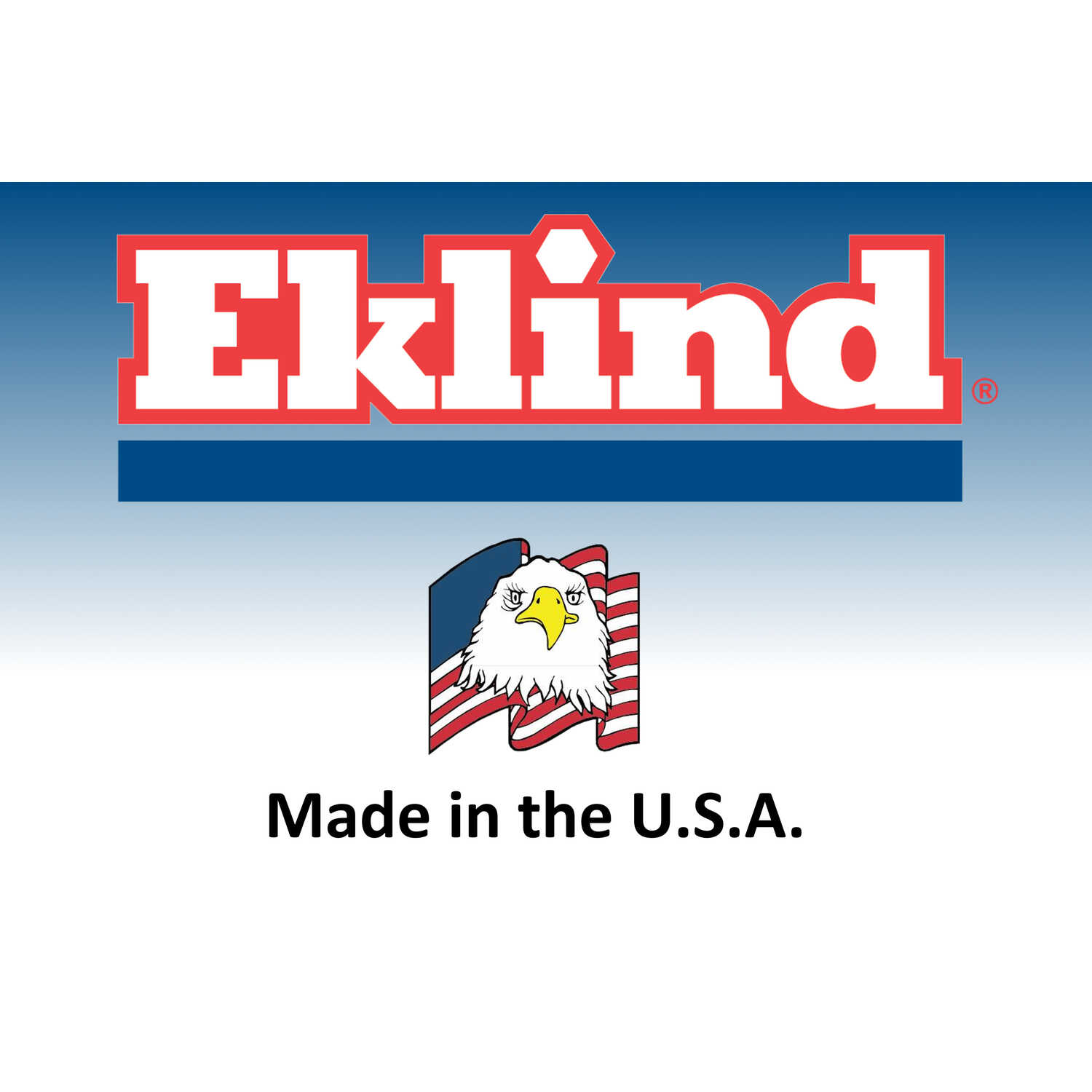 Eklind Tool  1/4  SAE  T-Handle  Hex Key  6 in. 1 pc.