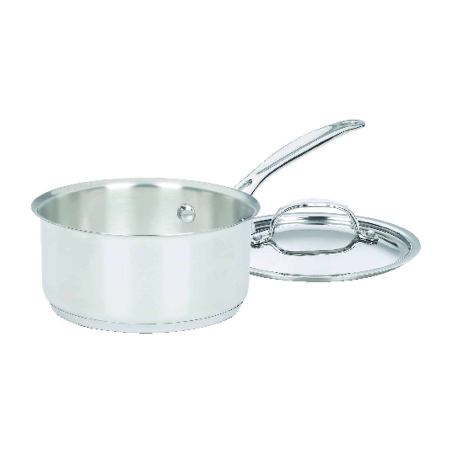 Cuisinart  Chef's Classic  Stainless Steel  Saucepan  Silver  1-1/2 qt.