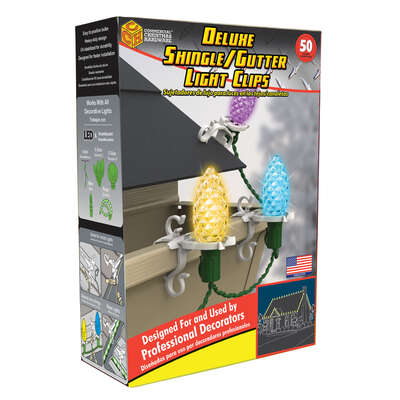 Adams  3 in. Accessory  Shingle Light Clips