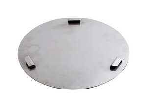 Pit Barrel Cooker  Stainless Steel  Ash Catcher Pan  14-1/2 in. W x 3/4 in. L