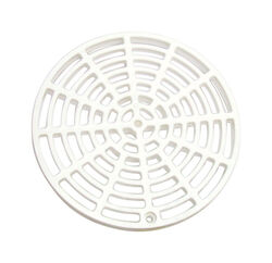 Sioux Chief  6-1/8 in. Polypropylene  Round  Floor Drain Cover