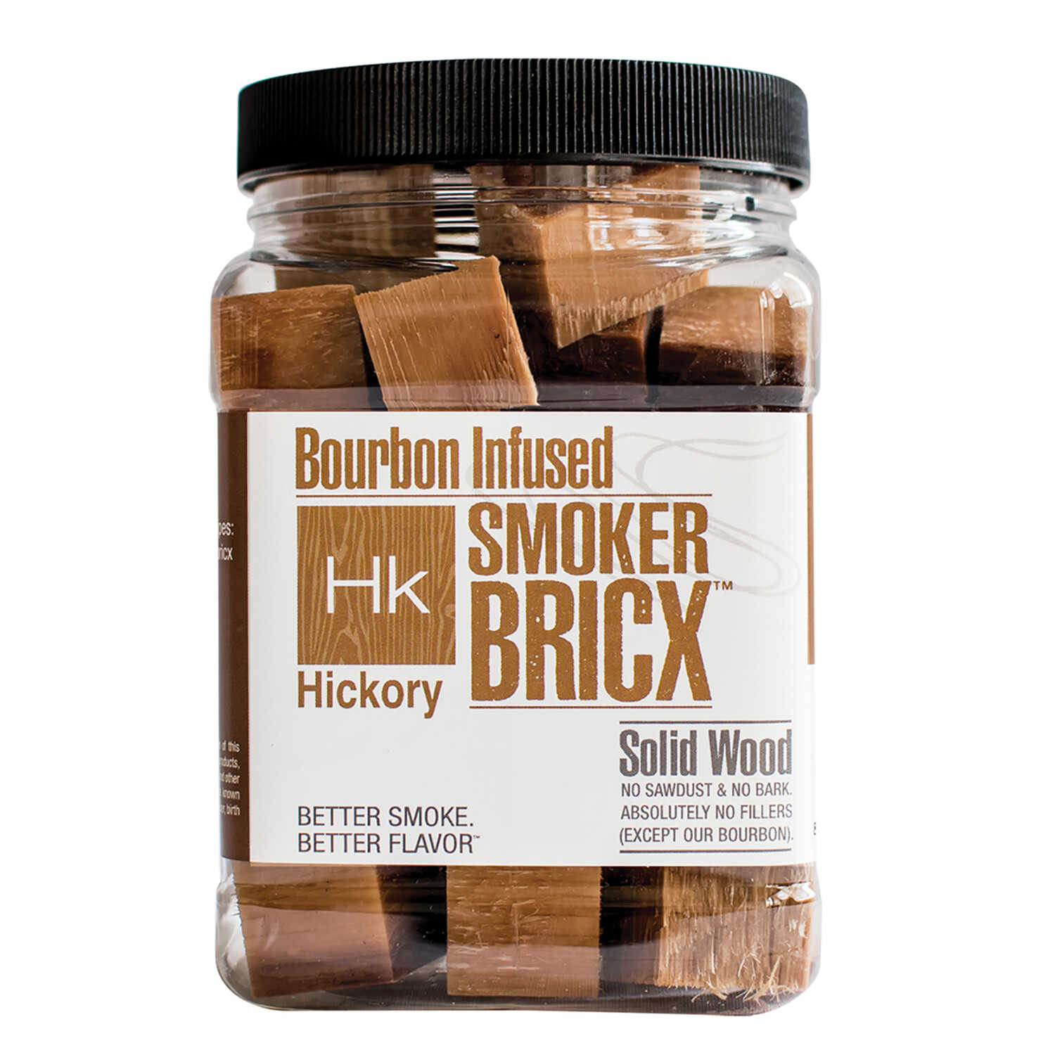 SmokerBricx  Hickory  Wood Smoking Chunks  64 oz.