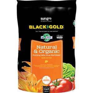 Black Gold  Natural & Organic  Organic Potting Soil