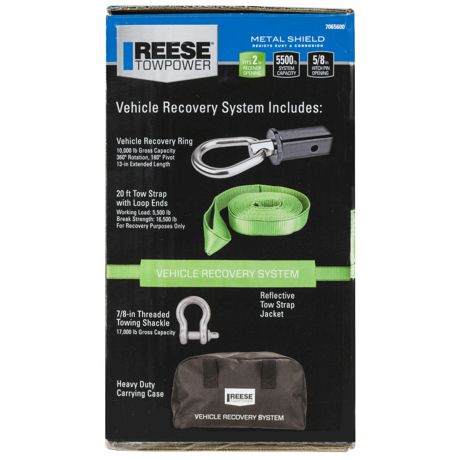 Reese  Towpower  Vehicle Recovery Ring Kit