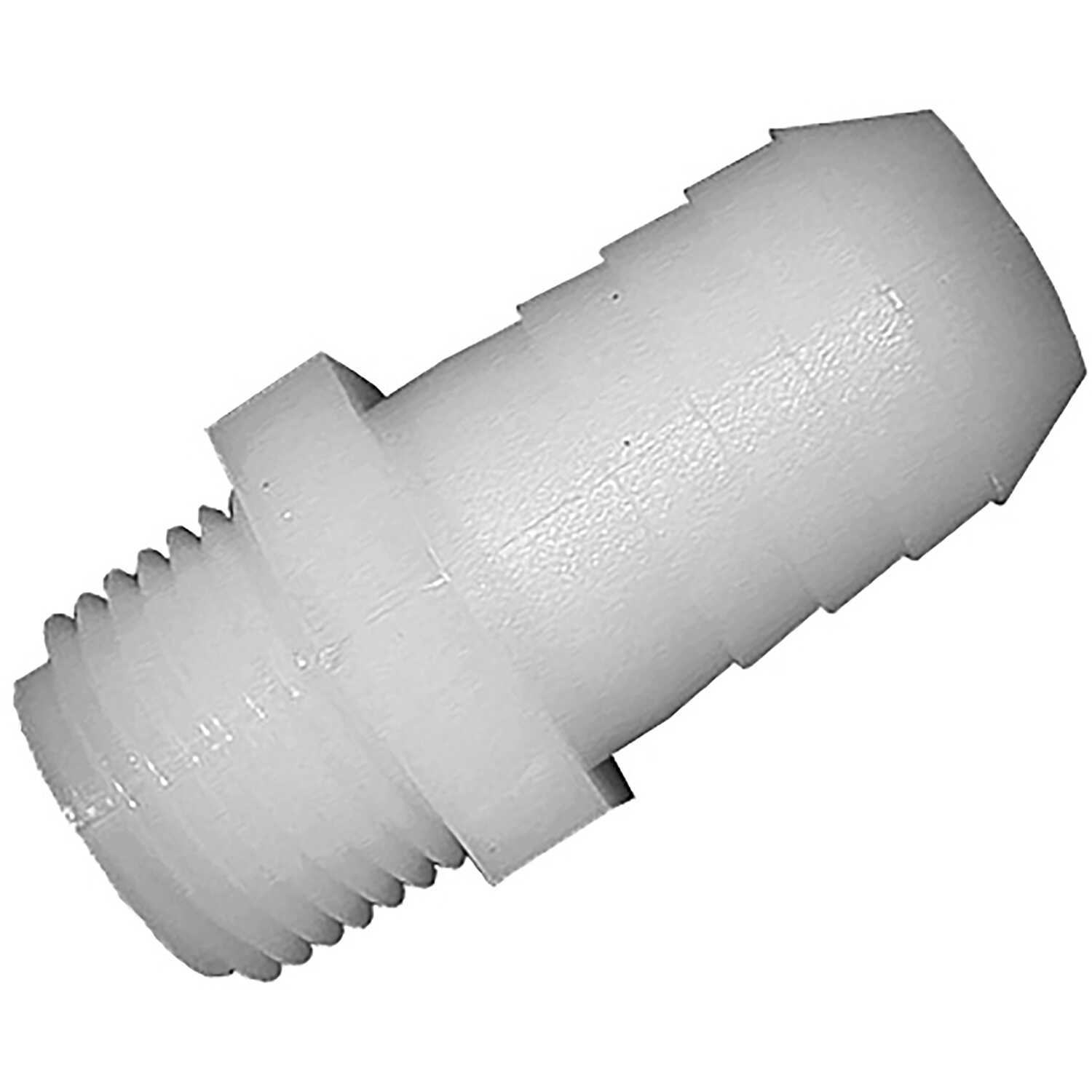 Green Leaf  Nylon  Adapter  1 in. Dia. x 3/4 in. Dia. White  1 each