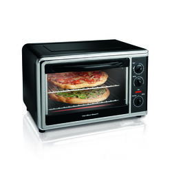Hamilton Beach  Stainless Steel  Black  Convection Oven and Rotisserie  14.53 in. H x 23.5 in. W x 1