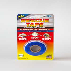 Rescue Tape  1 in. W x 12 ft. L Blue  Silicone Tape  6 oz.