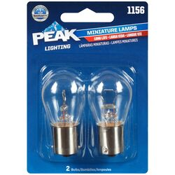 Peak  Incandescent  Parking/Stop/Tail/Turn  Miniature Automotive Bulb  1156