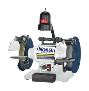 C.H. Hanson  Norse  8 in. Grinding Center  120 volt 1/2 hp 16 in. W x 16 in. H 3250 rpm 1 pc.