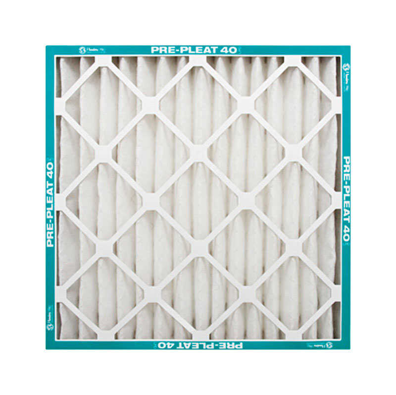 AAF Flanders  16 in. W x 25 in. H x 1 in. D Polyester Synthetic  8 MERV Pleated Air Filter