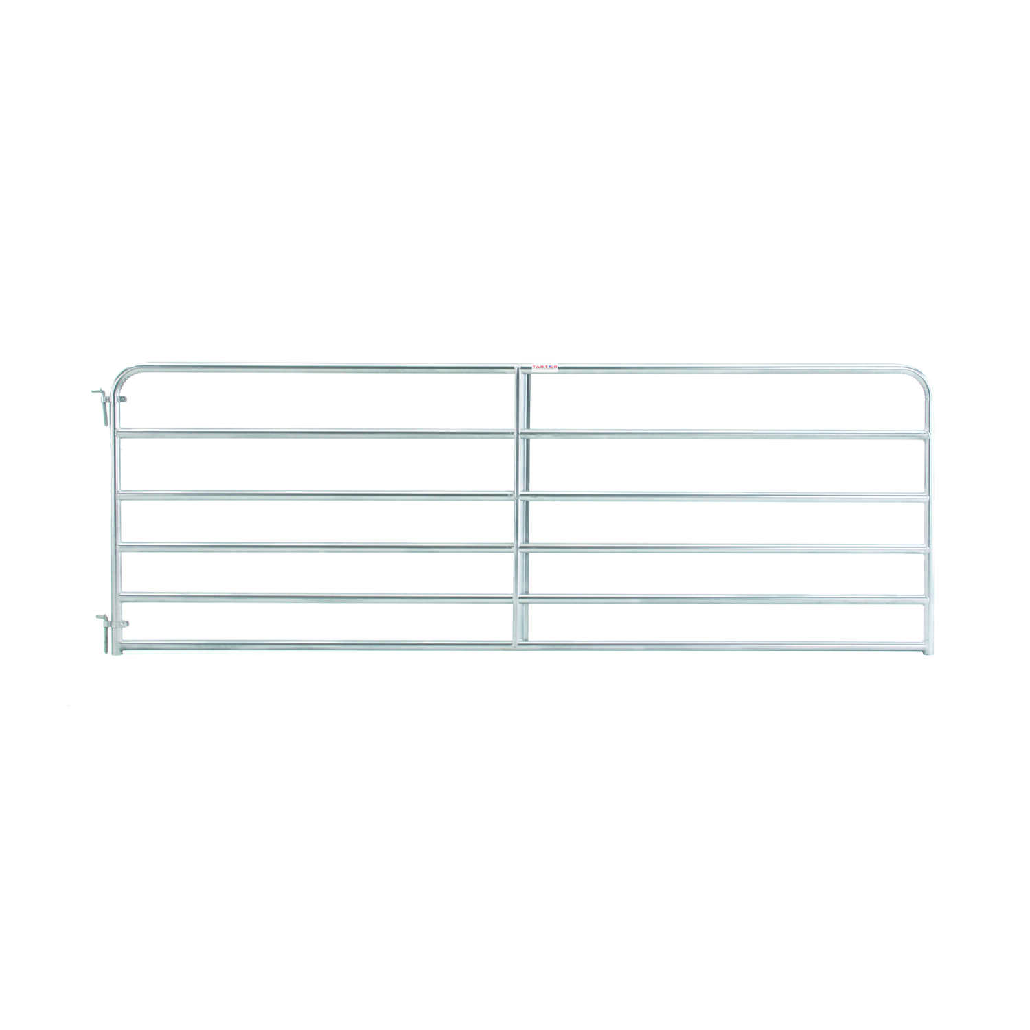 Tarter  50 in. H x 1.75 in. W x 12 ft. L Galvanized Steel  Tube Gate
