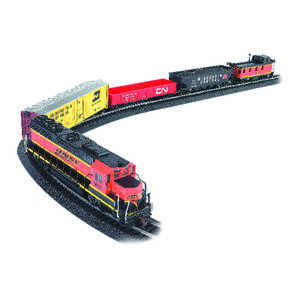 Bachmann  Rail Chief  Train Set  Plastic/Steel