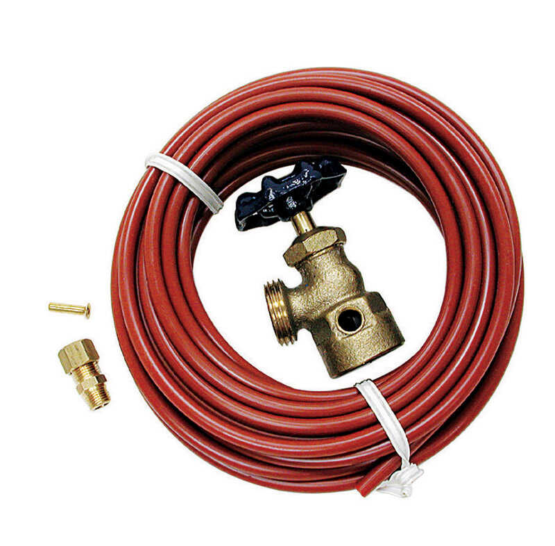 Dial  Poly  Evaporative Cooler Water Hook-Up Kit  Red