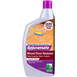 Rejuvenate  Satin  Polyurethane Floor Protector  Liquid  32 oz.