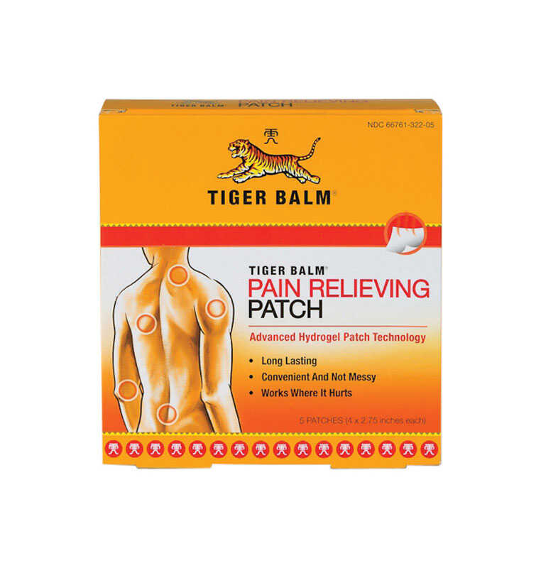 Tiger Balm  Pain Relief Patch  5 pk