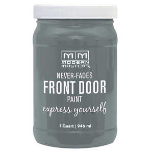 Modern Masters  Mysterious  Front Door Paint  1 qt. Satin