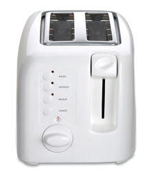 Cuisinart  Plastic  White  2 slot Toaster  7.2 in. H x 6.5 in. W x 11 in. D