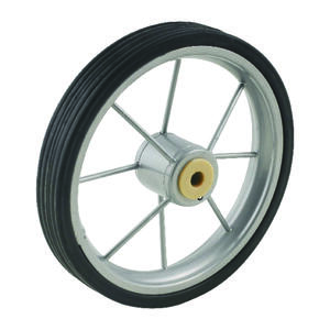 Apex  5-1/2 in. H x 7/8 in. W x 5-1/2 in. L Shopping Cart Wheel