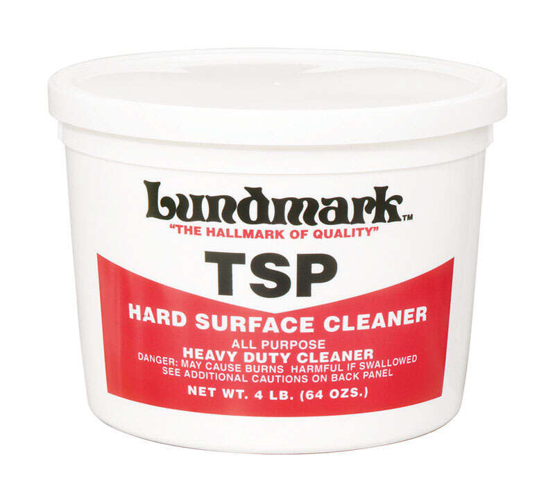 Lundmark  TSP  No Scent Hard Surface Cleaner  4 lb. Powder