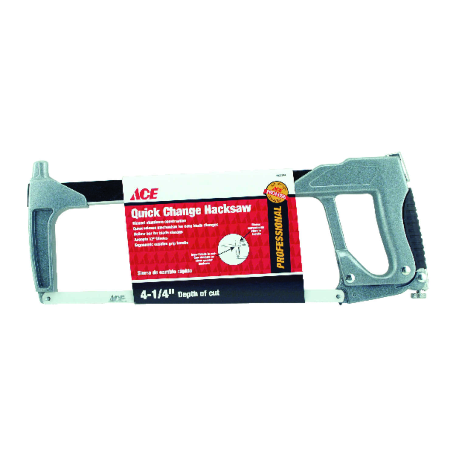 Ace  12 in. Quick Change Hacksaw