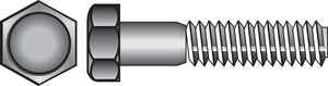 Hillman  5/16 in. Dia. x 2 in. L Zinc Plated  Steel  Hex Bolt  100 pk