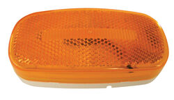 Peterson  Piranha  Amber  Oval  Clearance/Side Marker  LED Light