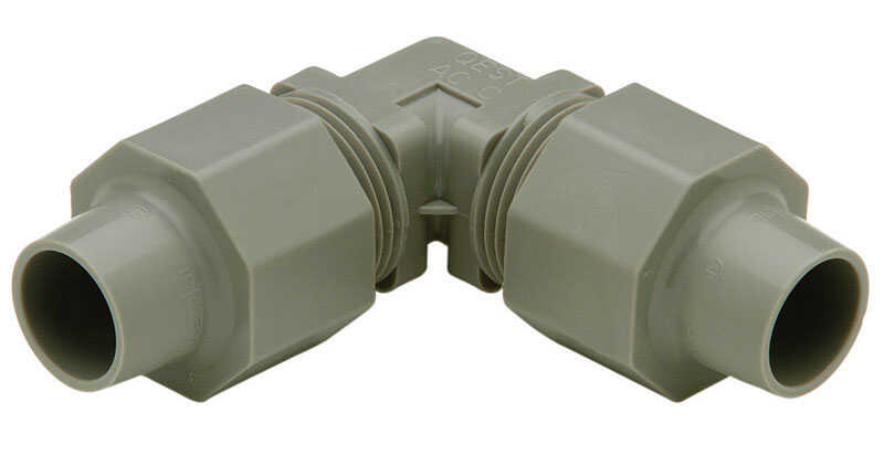 Zurn  1/2 in. CTS   x 1/2 in. Dia. CTS  Polybutylene  Elbow