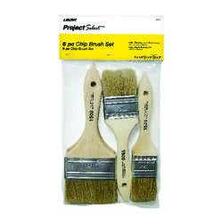 Linzer Project Select 1-1/2, 2, and 3 in. W Flat Chip Brush