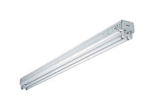 Metalux  SNF  48.25 in. L White  Hardwired  Fluorescent  Strip Light