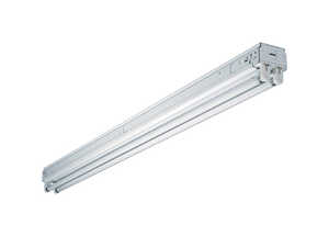 Metalux  SNF  48.25 in. L Hardwired  Fluorescent  Strip Light  White