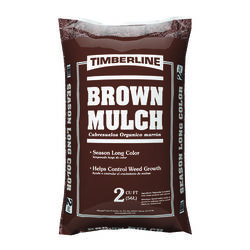 Timberline  Brown  Mulch  2 cu. ft.