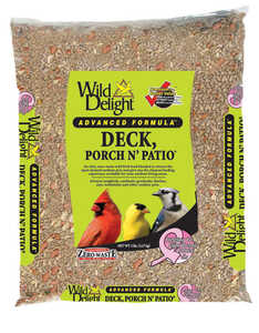 Wild Delight  Deck Porch N Patio  Assorted Species  Wild Bird Food  Sunflower Seeds  5 lb.
