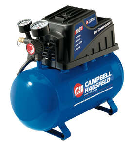 Campbell Hausfeld  2 gal. Portable Air Compressor  110 psi 0.3 hp