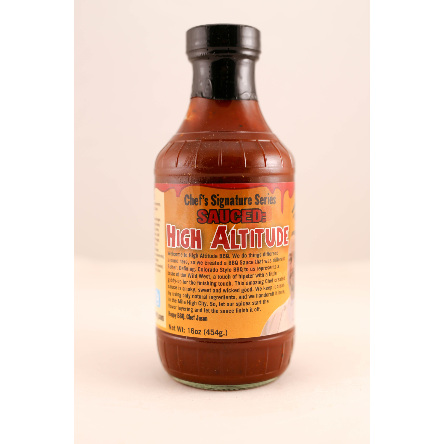 5280 Culinary  BBQ Provisions  High Altitude BBQ Sauce  BBQ Sauce  16 oz.