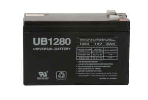 Universal Power Group  UB1280  8 amps Lead Acid Battery