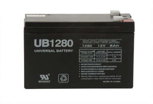 Universal Power Group  UB1280  8 amps Lead Acid Automotive Battery